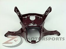 Ducati 899 1199 Panigale Fairing Stay Mounting Bracket 100% Carbon Fiber Red