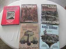 Military History Book Lot of 5