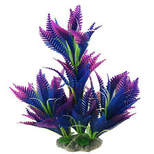 B3 Decoration Simulated Sea Plants Flora for Aquarium Fish Tank purple