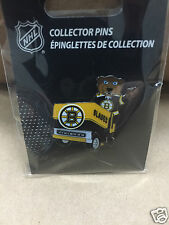 Boston Bruins Team Mascot Blades on Zamboni Hockey Pin - NHL Licensed