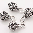 10/20Pcs Hollow Out Tibetan Silver Charm Jewelry Beads Pendant Findings 20*10mm