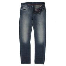 7 For All Mankind Slimmy Linen Mid Rise Jeans. Size: W34 L34 RRP: £190
