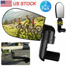 Vintage Classic Bike Deluxe Bicycle Mirror with White Reflector