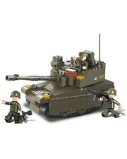 Sluban Army Battle Tank B0285 Military Building Block Military Not Lego