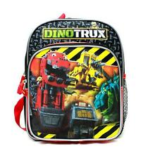 "DinoTrux 10"" Mini Backpack School Bag for Toddlers Licensed by Dreamworks New"