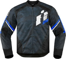 *Fast Shipping* ICON Overlord Primary Motorcycle Jacket Black, Blue, Red, Green