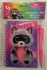 Ty Beanie Boos Rocco Stationery Set with Pen - FREE SHIP