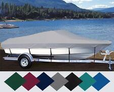 CUSTOM FIT BOAT COVER BOSTON WHALER VENTURA 16 BOW RAILS O/B 2000-2003