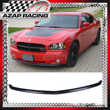 2005-2010 OE Style PU Front Bumper Lip Spoiler Black For Dodge Charger 4Dr Sedan