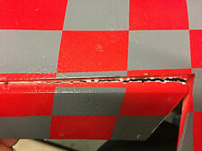 TAFT Viper Jet Red Painted Horizontal FIN, Hinge broken on 1 elevator (see pics)