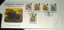 1980 Official First Day Cover, Cayman Islands New Definitive Issue