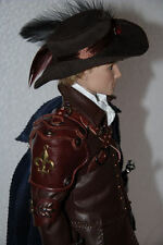 """OOAK outfit """"Aramis"""" for Tonner doll 17"""" men with Matt O'Neill body"""
