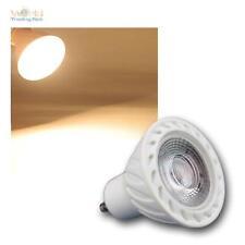 GU10 lámpara LED COB 7W blanco cálido 500lm Reflector reflector Bombillo 230V