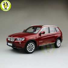 1/18 BMW X3 F25 xDrive 35i RMZ MODEL Diecast Model Car SUV Red