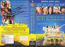 Devine secrets Of The Ya-Ya Sisterhood Video Promo Sample Sleeve/Cover #10730