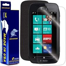 ArmorSuit MilitaryShield Nokia Lumia 710 Screen Protector + Black Carbon Fiber