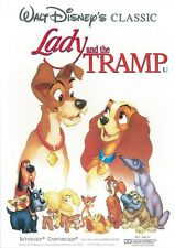 Lady and the Tramp movie poster print  : Walt Disney : 12 x 18 inches