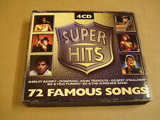 4-CD BOX / SUPER HITS - 72 FAMOUS SONGS