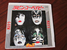 KISS I was made for loving you Japanese Picture Sleeve 45