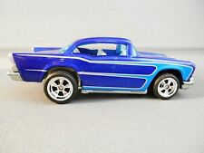 HOT WHEELS SINCE 68 BLUE WITH  SCALLOPS CUSTOM '57 CHEVY LOOSE