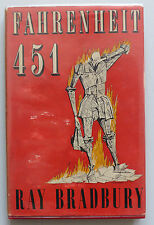 FAHRENHEIT 451 - RAY BRADBURY - 1st UK EDITION  SF CLASSIC  RARE/COLLECTABLE VG