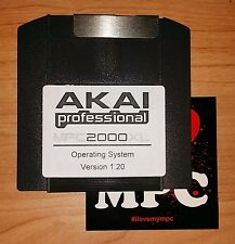 ZIP 100MB Akai MPC 2000XL Operating System OS V1.20 (Latest Version) Boot Disk