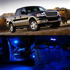 Blue 7PCS Interior Package Back Up Light for Ford F150 Supercrew 04-2008
