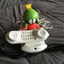 Toshiba Warner Bros. Looney Tunes Marvin The Martian Corded Telephone Works