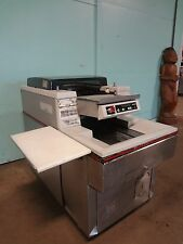 """HD COMMERCIAL """"HOBART"""" CONVEYOR FAST PAK MEAT WRAPPING MACHINE W/DIGITAL CONTROL"""