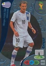N°386 DIEGO FORLAN # EXPERT URUGUAY PANINI CARD ADRENALYN WORLD CUP BRAZIL 2014