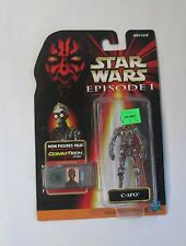Hasbro Star Wars: Episode 1 - C-3PO Action Figure CommTech Chip NEW