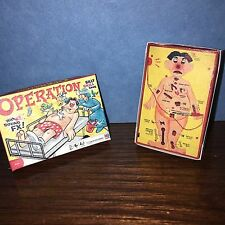 1:6 Scale Operation Game & Box: For  Barbie Diorama