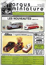 revue automobile: Argus de la Miniature. N°96 Juin 1987