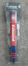 Montreal Canadiens Putter Grip NHL with Removable Ball Marker