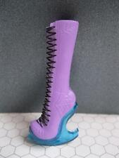 MONSTER HIGH ABBEY ABOMINABLE BOMINABLE ABBY Fashion Clothes -single PURPLE BOOT