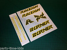 Raleigh Burner Old school bmx  Frame & Forks set with BX23 forks Decals Stickers