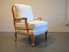 1 bergere chair french hollywood regency baker lounge chair