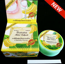 30g Natural Banana Herbal Toothpaste Whitening Teeth Anti Bacteria Fresh Breath
