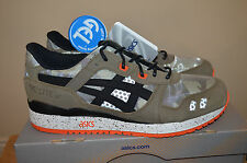 "BAIT ASICS Gel Lyte 3 III ""Guardian"" Camouflage Trainers UK 10 US 11 EU 44 BNIB"