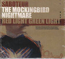SABOTEUR / THE MOCKINGBIRD NIGHTMARE / RED LIGHT GREEN LIGHT (CD) Post-Punk, NEW