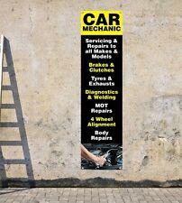 Voiture mécanique & servicing D1 workshop, garages-portrait pvc banner