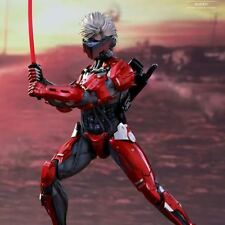 HOT TOYS VGM19 METAL GEAR RISING RAIDEN INFERNO ARMOR 2015 EXCLUSIVE MISB
