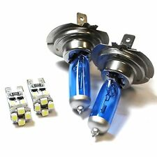 H7 501 55w ICE Blue Upgrade Xenon Low/Canbus LED No Error Side Light Bulbs