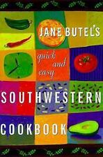 Jane Butel's Quick and Easy Southwestern Cookbook-ExLibrary