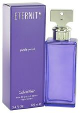 Eternity PURPLE ORCHID Calvin Klein 3.4 oz EDP spray Womens Perfume NEW NIB