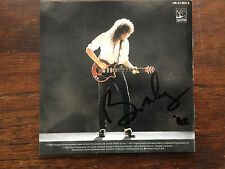 Brian May of Queen Back to the Light cd signed booklet autographed by Brian May