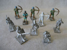 Minifigs GOTHIC Gallic SAXON Syrian archers rpg gaming miniatures Punic 25mm old