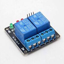 2 Kanal DC 5V Relais LED Anzeige Relay Modul Arduino ARM PIC AVR 3303