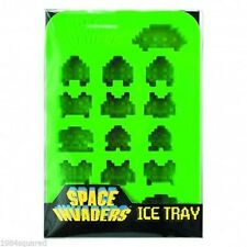 Space Invaders Ice Cube Tray New Mint