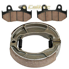 FRONT & REAR BRAKE PADS SHOES Fits Honda SES125 Dylan 125 2002 2003 04 05 06 07